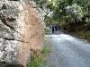 Descenso por la cañada de la Fuente de la Perdiz. Autor: Ricardo Benítez Lomas