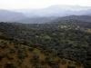 La Chimorra, 959m, pico más alto del norte de Córdoba, al fondo